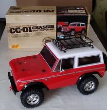 Tamiya CC-01 Ford Bronco    ( SUPERB  )  SHELF QUEEN