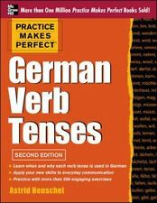 German Verb Tenses by Astrid Henschel (2013, Paperback)