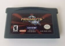 MEDABOTS AX METABEE Game Boy Advance 2002 GBA SP DS DSL