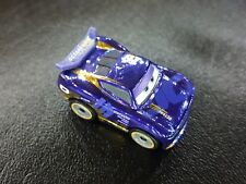 DISNEY PIXAR CARS DIE CAST MINI RACERS METALLIC DANNY SWERVEZ #15 2018 FREE SHIP