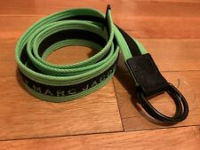 Marc Jacobs Cotton Stripe Belt One Size * Green *