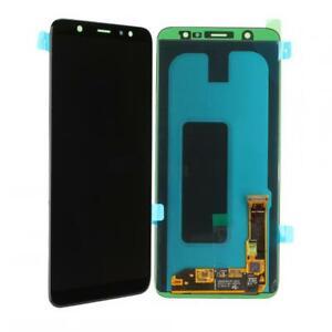 Original Samsung Galaxy A6+ (A605FN) LCD Display Touch Screen - Schwarz Black