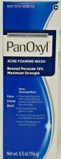Panoxyl Benzoyl 10% Foaming Acne Face Wash 5.5oz -Expiration Date 06-2021