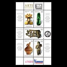 Costa Rica 2007 - Pre-Columbian Art Ceramic Stone Figure Gold - Sc 602 MNH