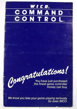 Wico Command Control Joystick Manual / Book for Atari 2600