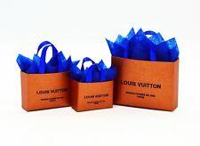 3 Designer Gift Bags Shopping Handbag  Valentines Day Dolls House Miniature
