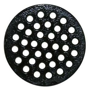"""Sioux Chief 846-S1PK Loose Drain Cover, Cast Iron, 4-3/8"""""""