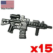 LEGO Guns HK416 Assault Carbine Rifle SpecOps Modern Military Weapon Lot x15