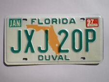 AUTHENTIC 1997 FLORIDA LICENSE PLATE