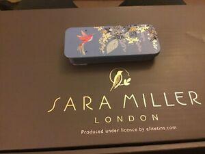 NEW! Sarah Miller Mini Slider Tin, 3.5x8x1.2cms, Hummingbird