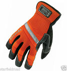 5x proflex hi-vis gauntlet trades gloves, reflective, safety, protection, SMALL