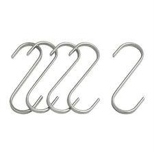 "IKEA 5 pack S-hook 2 3/4 "" pot pan lid container holder steel rack GRUNDTAL new"