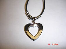 Of Hermatite Heart Necklace Made