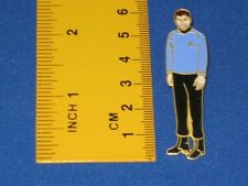 Star Trek Doctor Leonard H. Bones McCoy Cutout  Pin Badge STPIN303