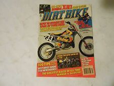 JULY 1995 DIRT BIKE MAGAZINE,HONDA XR250L,SUZUKI DR250,KTM 50,KAWASAKI KX100,AMA