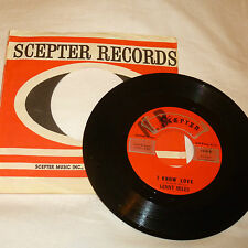 NORTHERN SOUL 45RPM RECORD -LENNY MILES - SCEPTER 1218 W/ COMPANY SLEEVE
