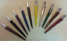 Lot 10 stylo bille ballpoint biro VALERIA MATTA pen nib stilografica writing 鋼筆