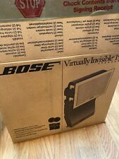 New (other) Bose Virtually Invisible 191 Wall Ceiling Speakers pair Flush Mount