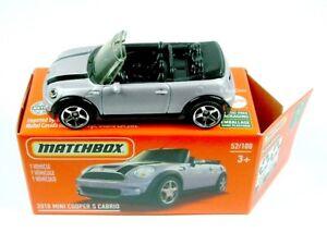 2021 MATCHBOX / #52 2010 MINI Cooper S Cabriolet / HERITAGE BOX.
