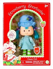 Blueberry Strawberry Shortcake Doll Scented Reproduction of 1980s New 12340