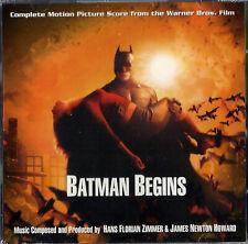 SC - 2CD BATMAN BEGINS (Complete Score) - James Howard Newton, Hans Zimmer