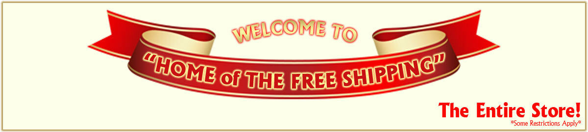 !Free Shipping The Entire Store!