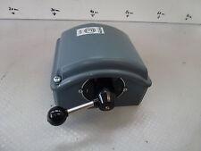 Elektra NN 16 Interruttore 4 Posizioni custodia alluminio circa 120/100 cm