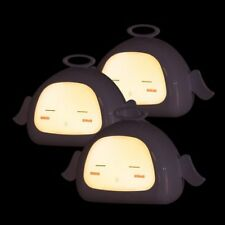 3PCS Auto LED Light Induction Baby Kid Bedroom Night Lights Bed Lamp Warm White