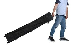 Hercules Gazebo® Pop Up Tent Heavy Duty Black Oxford Canvas Wheel Storge Bag