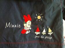 DISNEY Veste Imperméable Capuche 12 Mois Broderies Minnie TBE