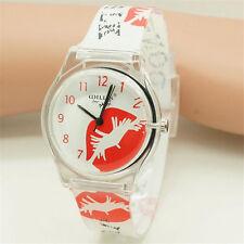 Fashin Women Lip Design Watch Hotsale Ladies Wristwatch Students Kid Gift Watch