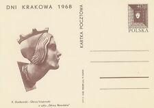 Poland prepaid postcard (Cp 379) CRACOW days