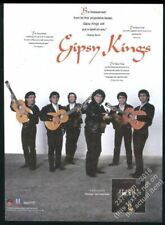 1989 The Gipsy Kings photo debut album release vintage print ad