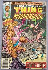 MARVEL, The Thing + Moondragon #62, UPC code, NR/FINE