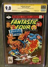 Fantastic Four #211 Newsstand CGC 9.0 WP First Terrax. Signed Wolfman & Sinnott