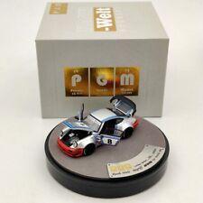 1:64 PGM Porsche 964 RWB Martini Rauh Welt Begriff #8 Diecast Models Limited