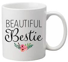 Beautiful Bestie Best Friend Ceramic Mug Cup Birthday Gift Present