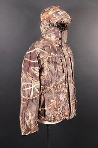 COLUMBIA Omni-Tech Advantage Max-4 Hunting Camo Parka Coat Jacket mens Size L