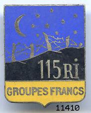 11410 . COMMANDO . GROUPE FRANC 115e RI