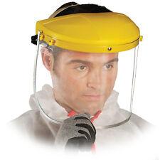 Gesichtsschutz Schutzvisier Augenschutz Klappvisier Visier Top Qualität Gelb NEU