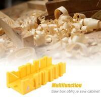 300mm Plastic Cornice Mitre Saw Box Square Angle 0/45/22.5 Degree Guide Wood