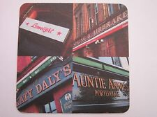 Beer Coaster ~ Awsome IRISH PUB Websites: Lime Light, Katy Dalys, Auntie Annies+