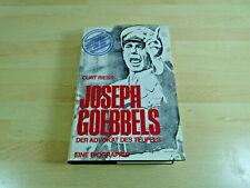 Curt Riess: Joseph Goebbels - Der Advokat des Teufels / Gebunden