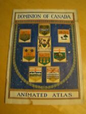 DOMINION CANADA ANIMATED ATLAS CHARLES STEWART MINISTER TEXT BY MASTER UNDATED