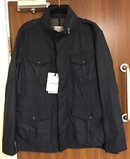 MONCLER Navy CLAUDE Field jacket in Taglia 3/MEDIUM RRP £ 700