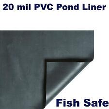 20' x 20' 20 mil PVC Koi Pond & Water Garden Liner