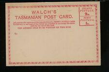 Tasmania Walch's post card unused Ms0729