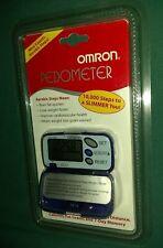 Omron HJ-105 Pedometer Blue NEW