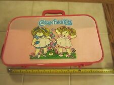Vintage Cabbage Patch Kids Suitcase Luggage Bag Character Case 1983 .