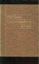 60 Jahre Unterlahnkreis 1867-1927